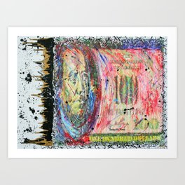 """Throw Sum Mo"" Art Print"