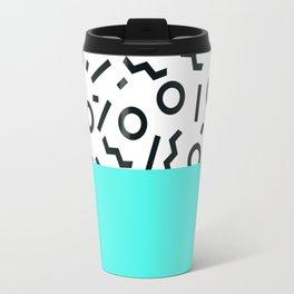 Memphis pattern 43 Travel Mug