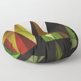 green yyyr Floor Pillow