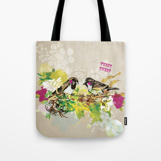 Tweet Tweet Tote Bag