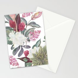 tropical pattern Stationery Cards
