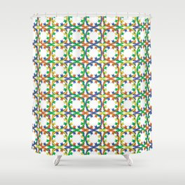 The Pattern Shower Curtain