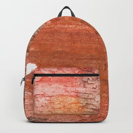 Sienna colored watercolor Backpack