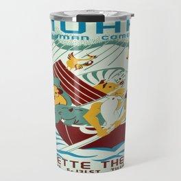Vintage poster - Noah's Ark Travel Mug