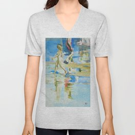 Sea sketches 3 Unisex V-Neck