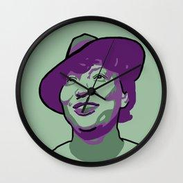 Zora Neale Hurston Wall Clock