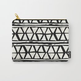 Tribal Geometric Band Carry-All Pouch