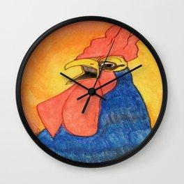 Rooster Fun Wall Clock