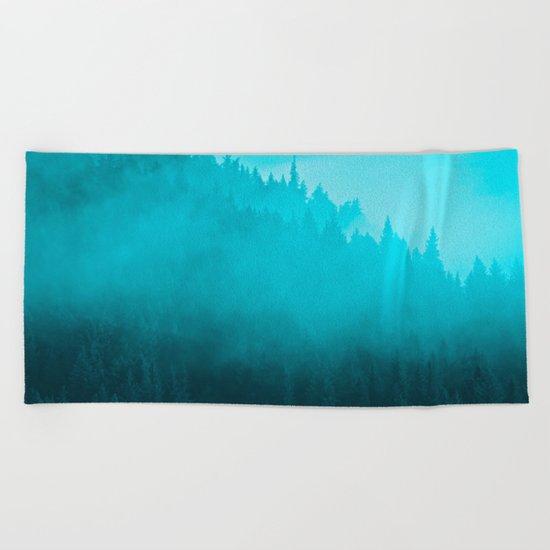 Early Morning Mist - II Beach Towel