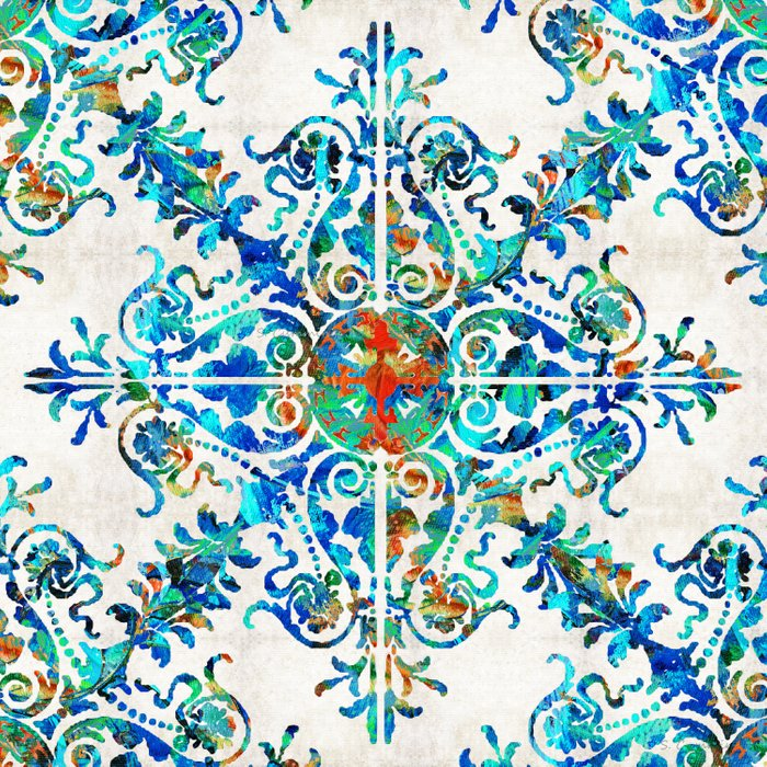 Colorful Pattern Art - Color Fusion Design 6 By Sharon Cummings Comforters