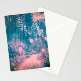 Pink Magical Path Stationery Cards