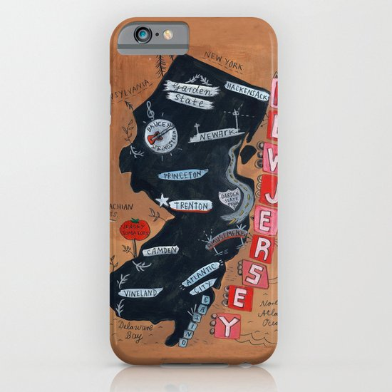 NEW JERSEY iPhone & iPod Case