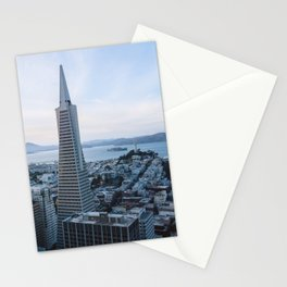 San Francisco Skyline Stationery Cards