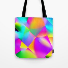 Expressionist Cubes Tote Bag