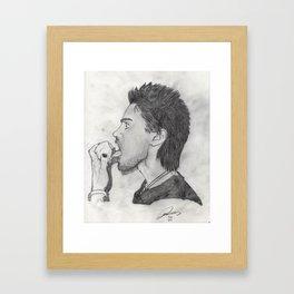 A Bite full of Lust Framed Art Print