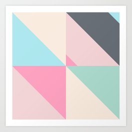 Geometric Pattern IV Art Print