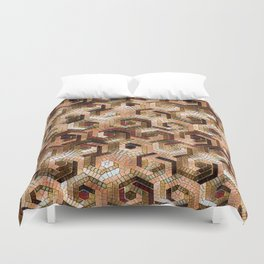 Pattern Factory 23 brown Duvet Cover
