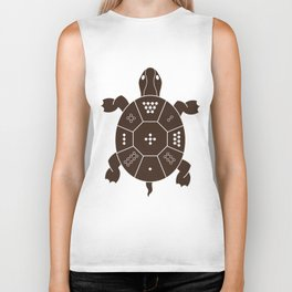 Lo Shu Turtle Biker Tank