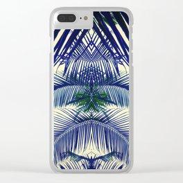 Fern pattern Clear iPhone Case