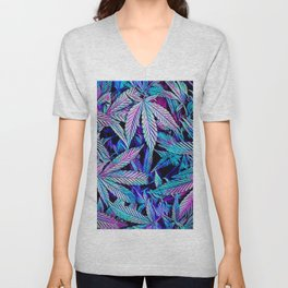 Cannabis Jewels Unisex V-Neck