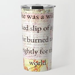 Emily Bronte Quote Travel Mug