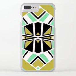 Geometric#608 Clear iPhone Case
