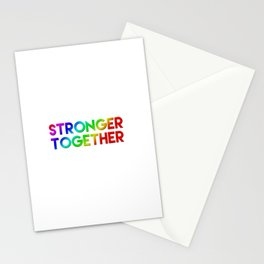 Stonger Together Stationery Cards