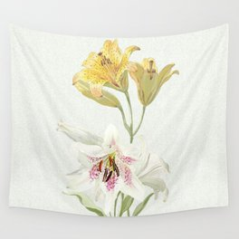Lily meets Lilia Wall Tapestry