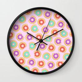 Donut Party Wall Clock