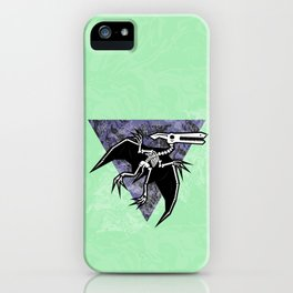 Pterodactyl Fossil iPhone Case