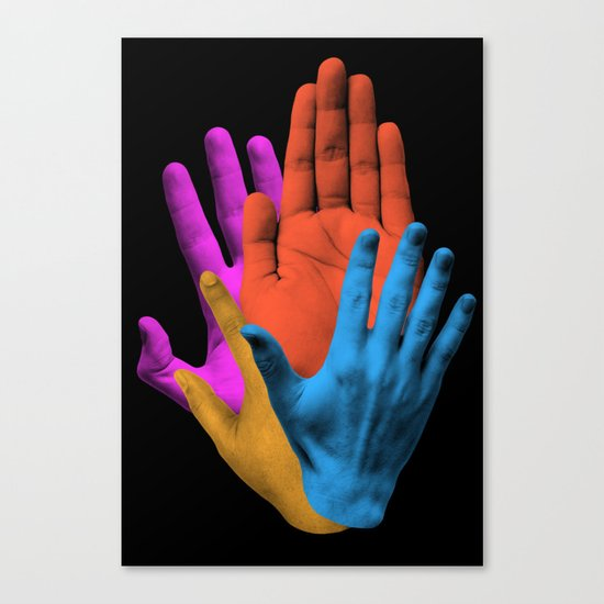 Throwing It All Away Canvas Print