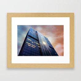 300 Wacker Framed Art Print