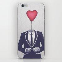 valentine iPhone & iPod Skins featuring Mr. Valentine by Davies Babies