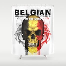 To The Core Collection: Belgium Shower Curtain