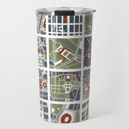 Urban fragments I of NewYork, Paris, London, Berlin, Rome and Seville Travel Mug
