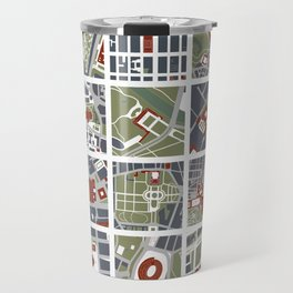 Urban fragments I of‪ NewYork‬, ‎Paris‬, London‬, Berlin‬, Rome‬ and Seville Travel Mug