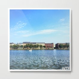 The Lakes Metal Print