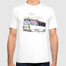 Septa Trolley Art: Philly Public Transportation T-shirt