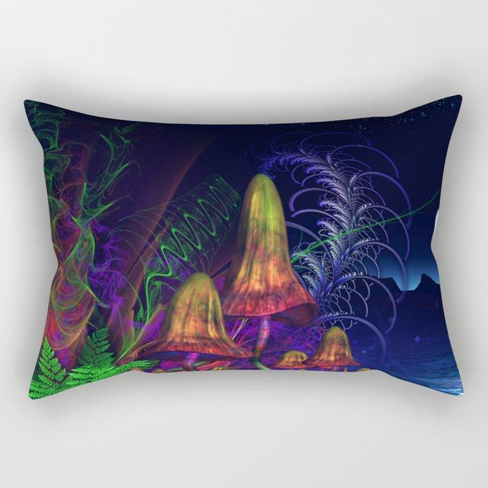 Happy Birthday Terence Mckenna Rectangular Pillow