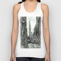 sketch Tank Tops featuring sketch by ALEXIS