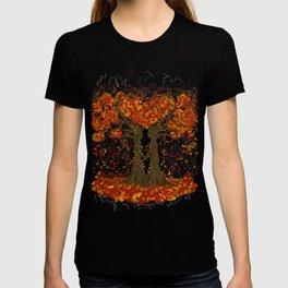 Digital painting of the season of Autumn T-shirt