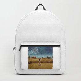 Broken Glass Sky Backpack