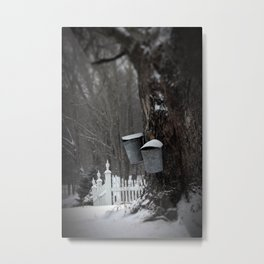 Sugaring 1 - Maple Syrup Metal Print