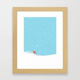 Snow_04 Framed Art Print