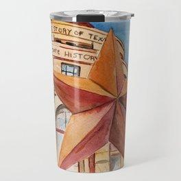 The Bullock Texas State History Museum Watercolor Travel Mug