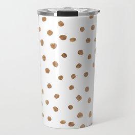 Goldie Dots Travel Mug