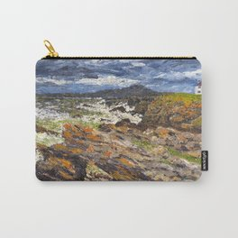 Wind swept sea Anglesey Gromlech Carry-All Pouch