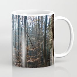 Light Shining in the Forest Coffee Mug