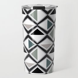 Gray Asymmetry Travel Mug