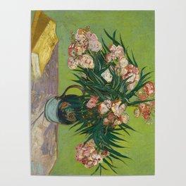 Oleanders by Vincent Van Gogh, 1888 Poster